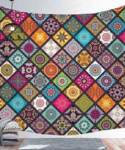 Ethnischer Wandteppich