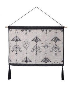 Kurzer indischer Wandteppich - 39 x 54cm