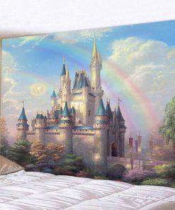 Fantasy Castle Wandbehang