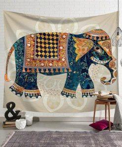 Wandbehang Hindu Elefant