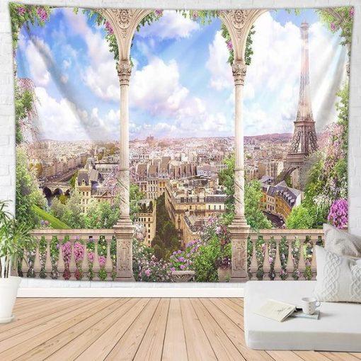 Paris Wandbehang